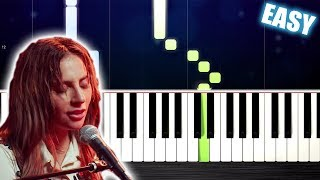 Baixar Lady Gaga - Always Remember Us This Way - EASY Piano Tutorial by PlutaX
