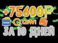 Легкий заработок денег в интернете 7560 рублей в день