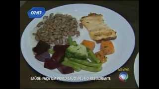 Faça um Prato Saudável no Restaurante
