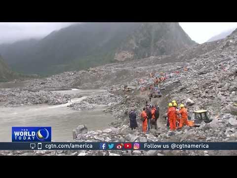 Sichuan landslide