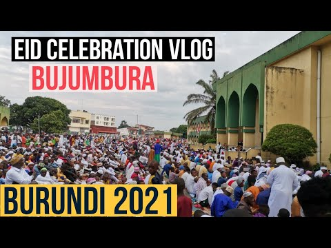 Eid Celebration Vlog  Bujumbura Burundi Africa   Eid Mubarak to All   How we celebrate Eid in Africa