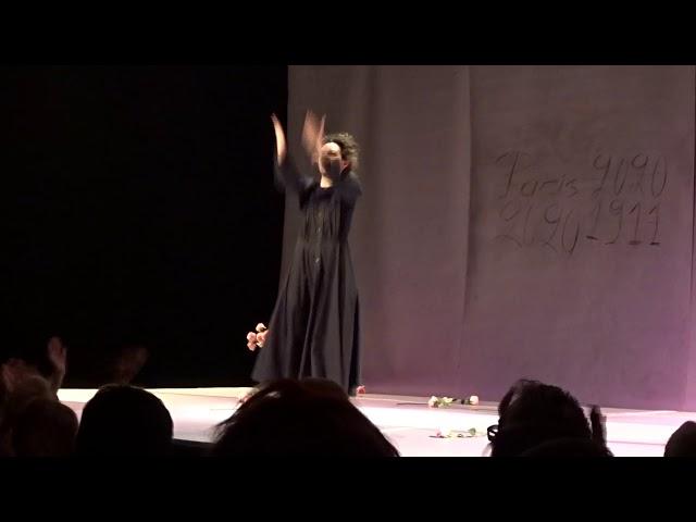 Πέγκυ Τρικαλιώτη - Η Απολογία της Μαρί Κιουρί - Χειροκρότημα StellasView.gr