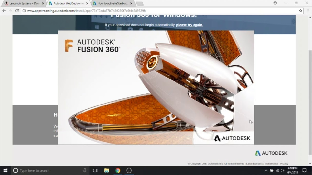 Fusion 360 Tutorial: Installation and Activation