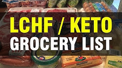 Our LCHF / Keto / Ketosis Kickoff Grocery List