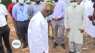 Foundation Stone laid for MTA residence in Ghana