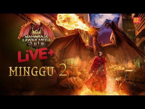 [LIVE] Maharaja Lawak Mega 2019 Live + (Minggu 2)