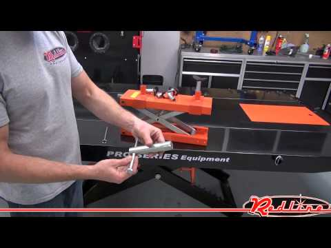 Pro Series Motorcycle ATV Lift Table by RedlineStands.com