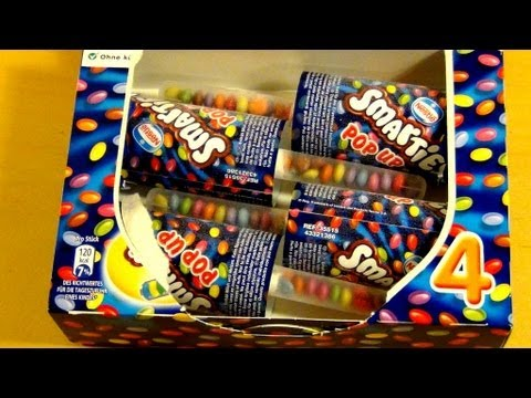 Nestle Ice Cream >> Smarties Ice Cream - Pop Up [Nestlé, 4 Pack] - YouTube