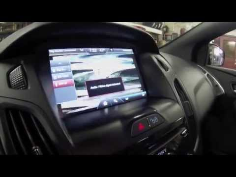 """How to play video on My Ford Touch 8"""" Screen [Ford Focus ST]"""