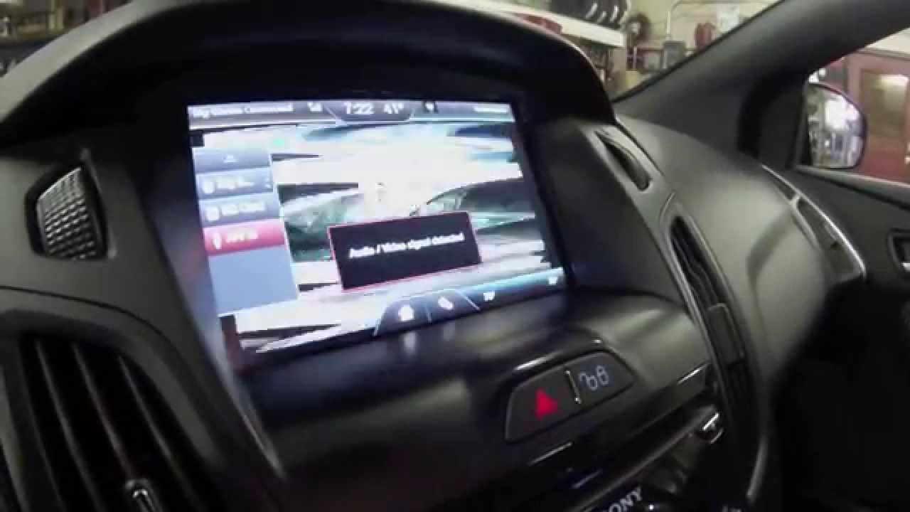 How To Play Video On My Ford Touch 8 Quot Screen Ford Focus