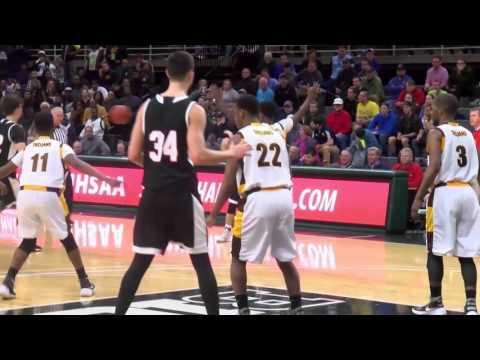 Detroit Henry Ford vs. Stevensville Lakeshore - 2016 Class B Boys Basketball State Final