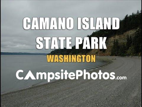 Camano Island State Park, Washington Campsite Photos