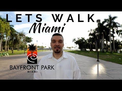 Walk Miami Bayfront Park