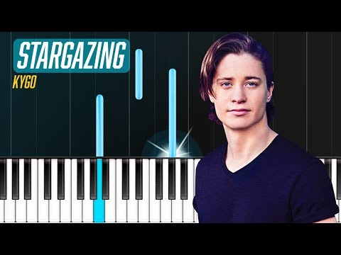 "Kygo - ""Stargazing"" ft. Justin JessoPiano Tutorial - Chords - How To Play - Cover"