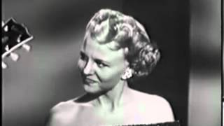 Watch Peggy Lee You Was Right Baby video