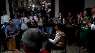 Actuacion del Coro Flor de Jara.