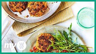 RECIPE: Spiced Squash &amp Cauliflower Fritters