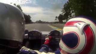 Gramos laps Le Mans 2015