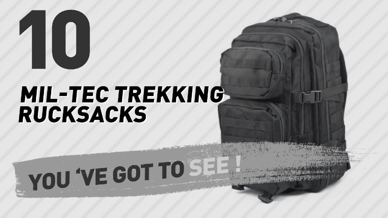 33febf142e6b4 Mil-Tec Trekking Rucksacks    The Most Popular 2017 - YouTube