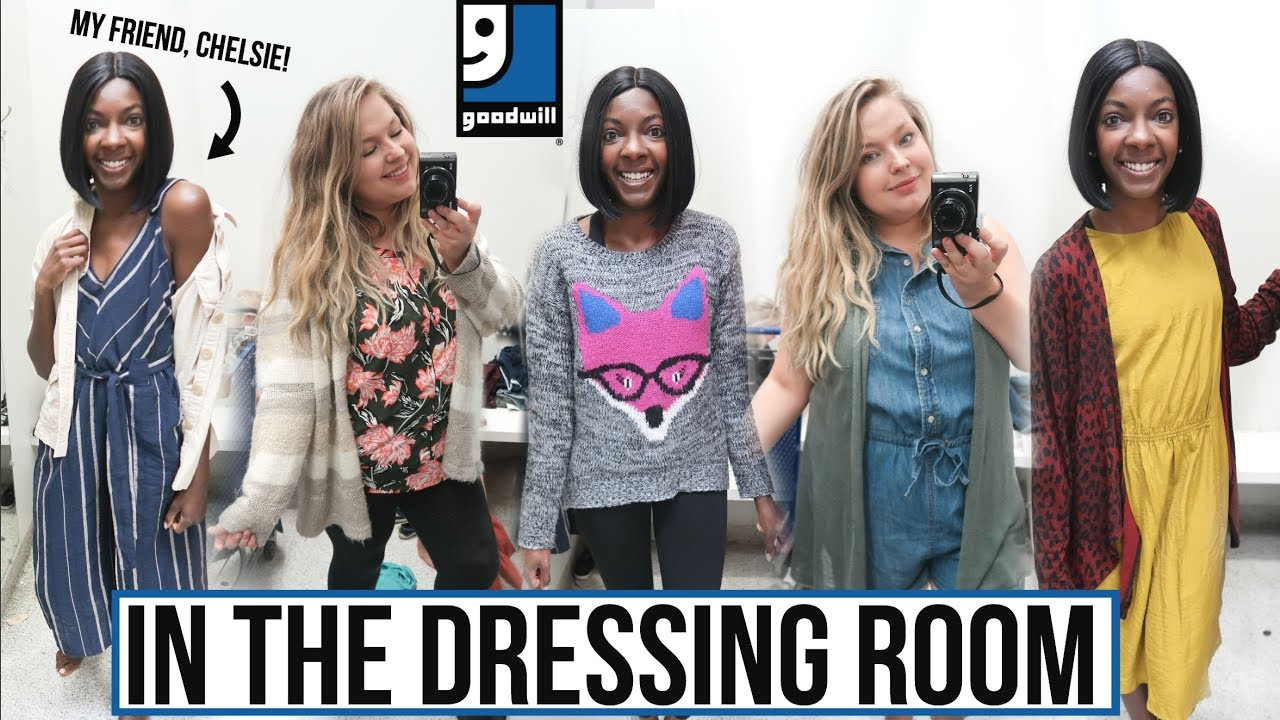 [VIDEO] - INSIDE GOODWILL'S DRESSING ROOM | Outfit Ideas for Every Body! FALL 2018 Try On 2