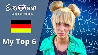 Eurovision 2019 Germany - My Top 6 Artists「EuroCore」