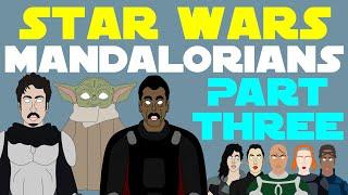 Star Wars Canon: Mandalorians (Part 3 of 3 - Mandalorian Show Spoilers)