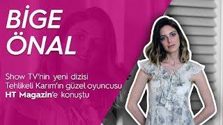 Tehlikeli Karım dizisinin güzel oyuncusu Bige Önal ile mini röportaj