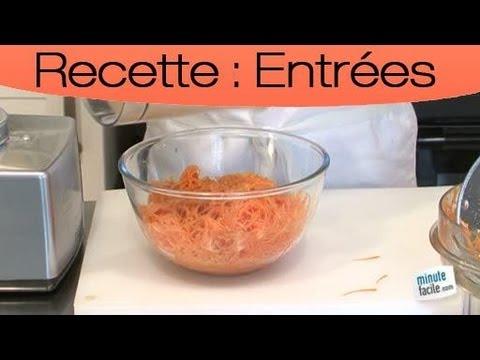 recette-minceur-:-carotte-râpée-avec-une-sauce-allégée