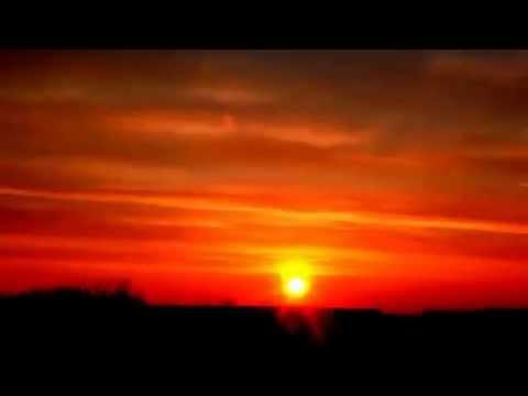 Рассвет таймлапс, видео высокого разрешения, природа HD