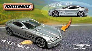 Detailing Matchbox Mercedes McLaren SLR | Quick & Easy DIY