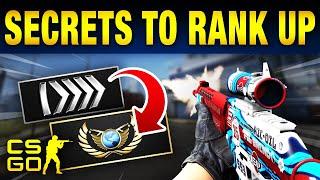 Top 10 Secrets To Rank Up in CS:GO