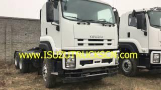Prime Mover Truck ISUZU Tractor unit for sale