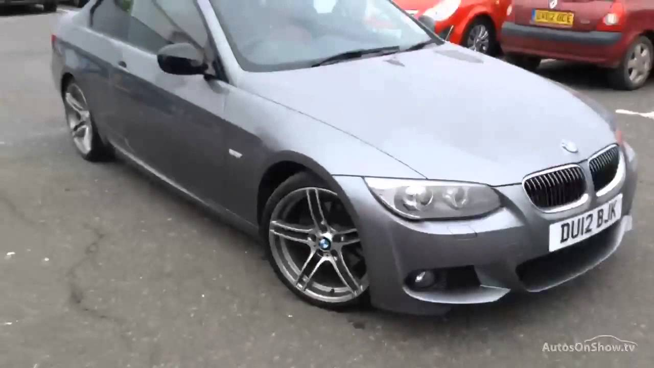 BMW 3 SERIES 320D SPORT PLUS EDITION GREY 2012
