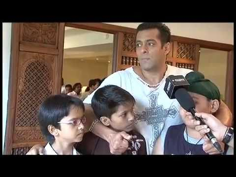 Salman Khan and the Kids on Chillar Party - Exclusive Interview
