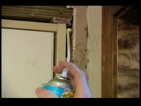 How to replace a garage entry door filling gaps in a for Door gap filler