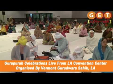 La Convention center live kirtan