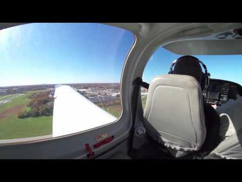 DA40 Landings