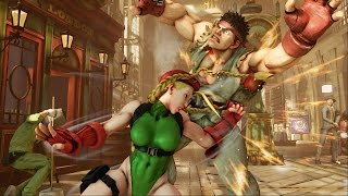 Street Fighter V - Trailer E3 2015