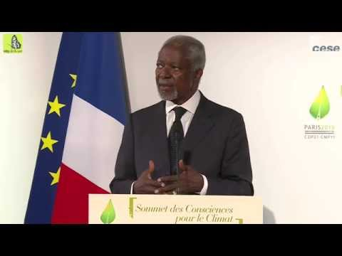 Speech from M. Kofi Annan - summit of conscience - cese
