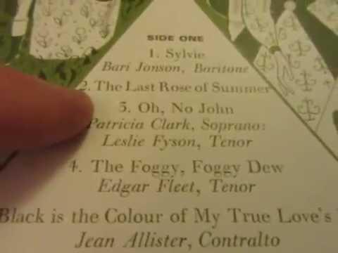 Oh No, John! - Folk song - Soprano - Tenor - Patricia Clark - Leslie Fyson