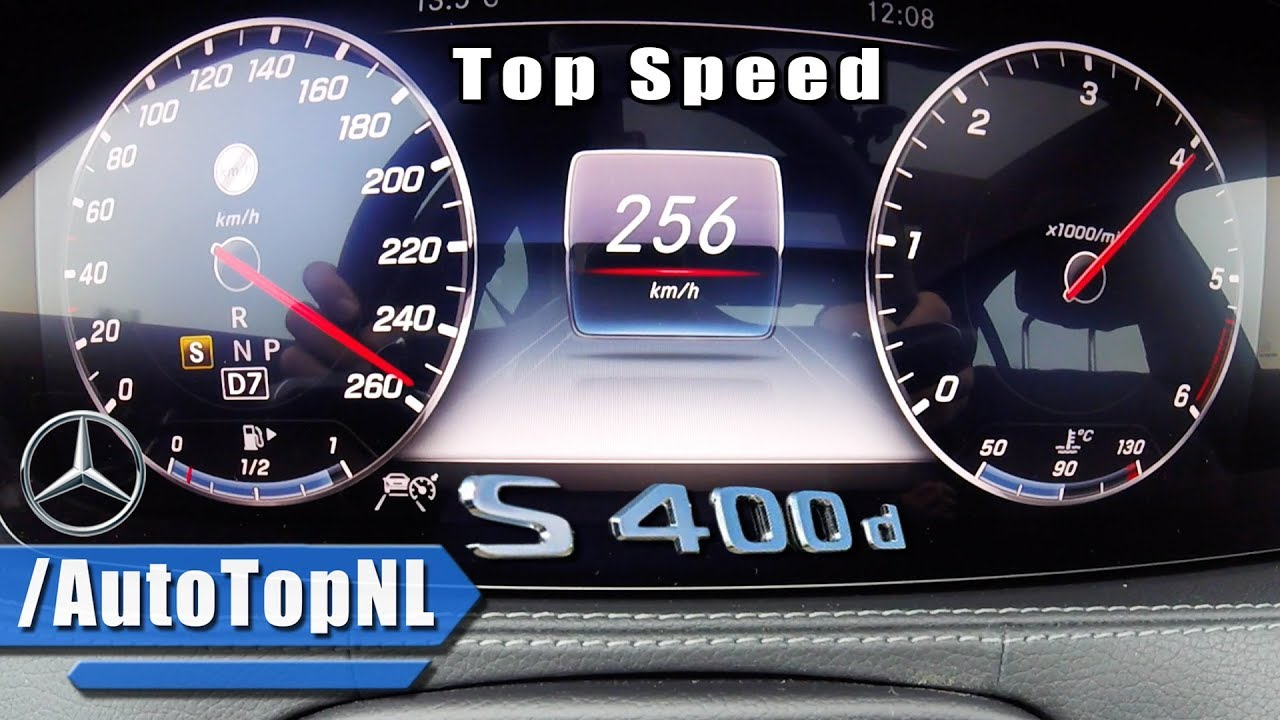 2018 Mercedes Benz S Class S400d Acceleration Amp Top Speed