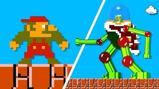Супер ANGRY Bros - Сага Луиджи (КАЖДЫЙ ЭПИЗОД) Марио пародия