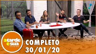 Baixar A Tarde é Sua (30/01/20) | Completo