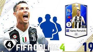 FIFA Online 4   FO4 Review Trải Nghiệm Nhanh Mùa 19TOTS: Cristiano Ronaldo - Một CR7 Hoàn Hảo ?