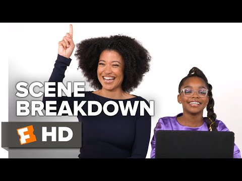 "Marsai Martin & Director Tina Gordon Break Down The ""April Meeting Young Jordan"" Scene 