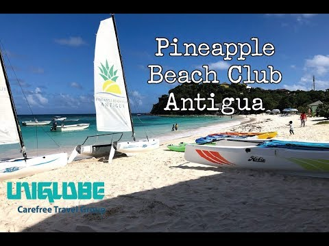 Pineapple Beach Club Antigua - 2018 Resort Tour   UNIGLOBE Carefree Travel