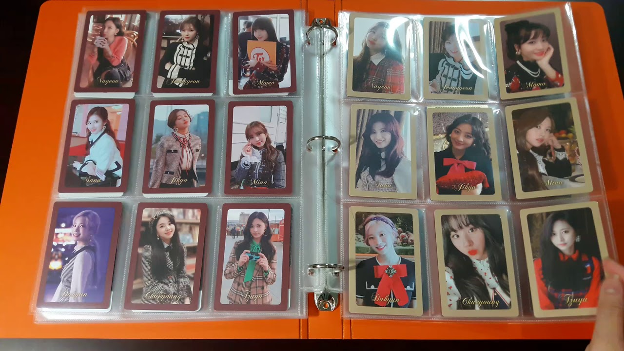[TWICE collection] 1st updated The Year Of Yes Photocard