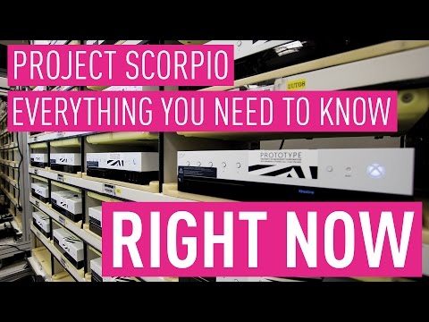 Project Scorpio Everything you need to know right now!