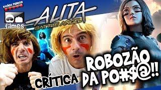 🎬 Alita - ROBOZÃO da PO#$@ - irmãos Piologo Filmes