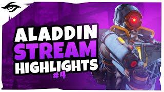 CRACKED BEYOND BELIEF // Secret Aladdin Stream Highlights #4 | Apex
